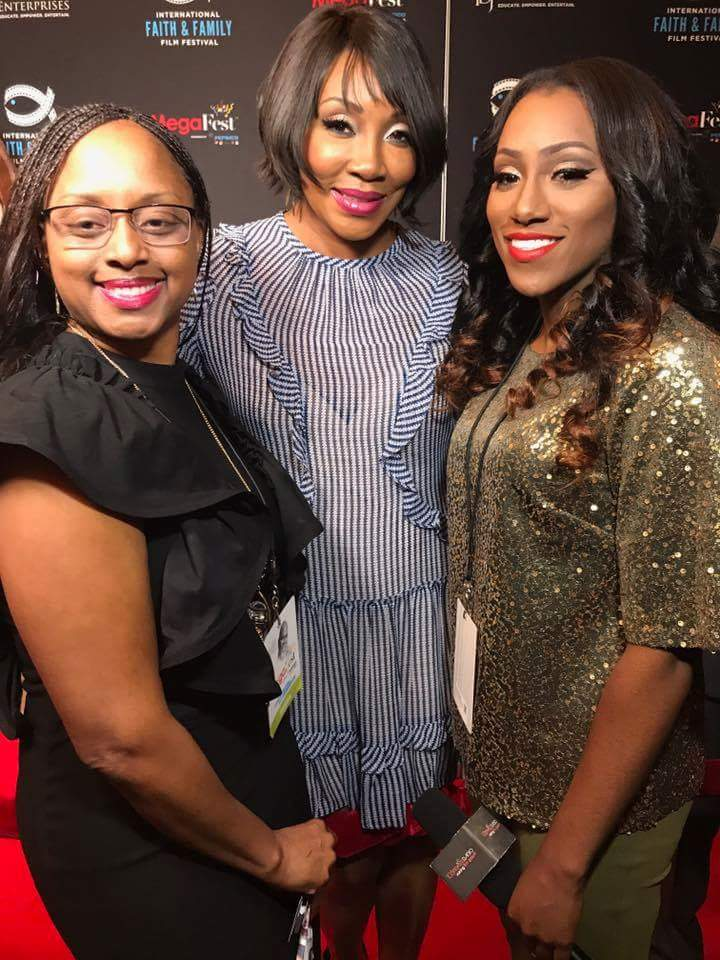 Lakeba Wallace, Angela White & Precious Thornton at MegaFest 2017