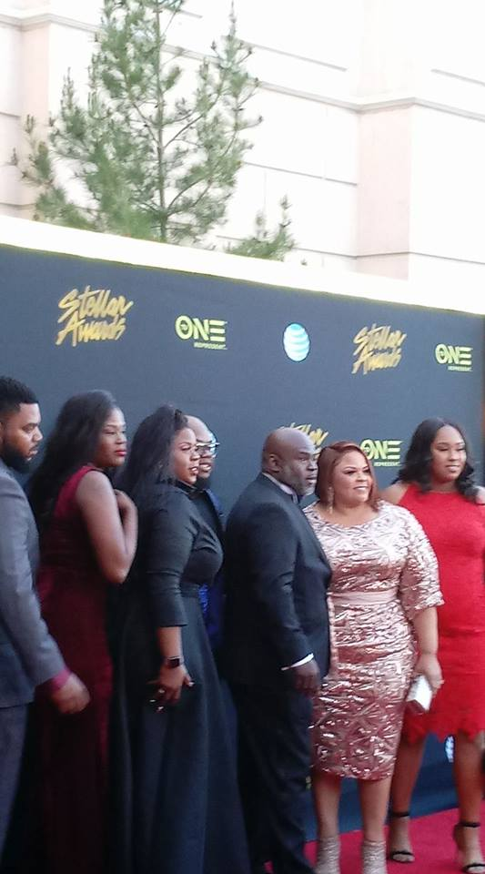 The Manns on the Red Carpet