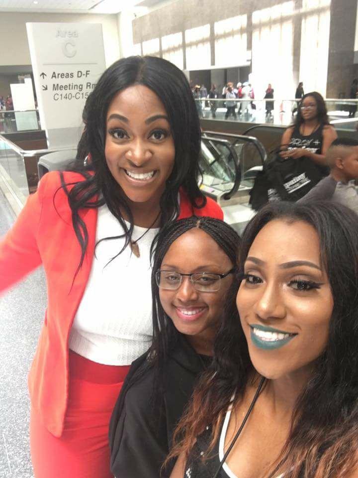 Gospel Singer Jessica Reedy, Lakeba Wallace & Precious Thornton at MegaFest 2017