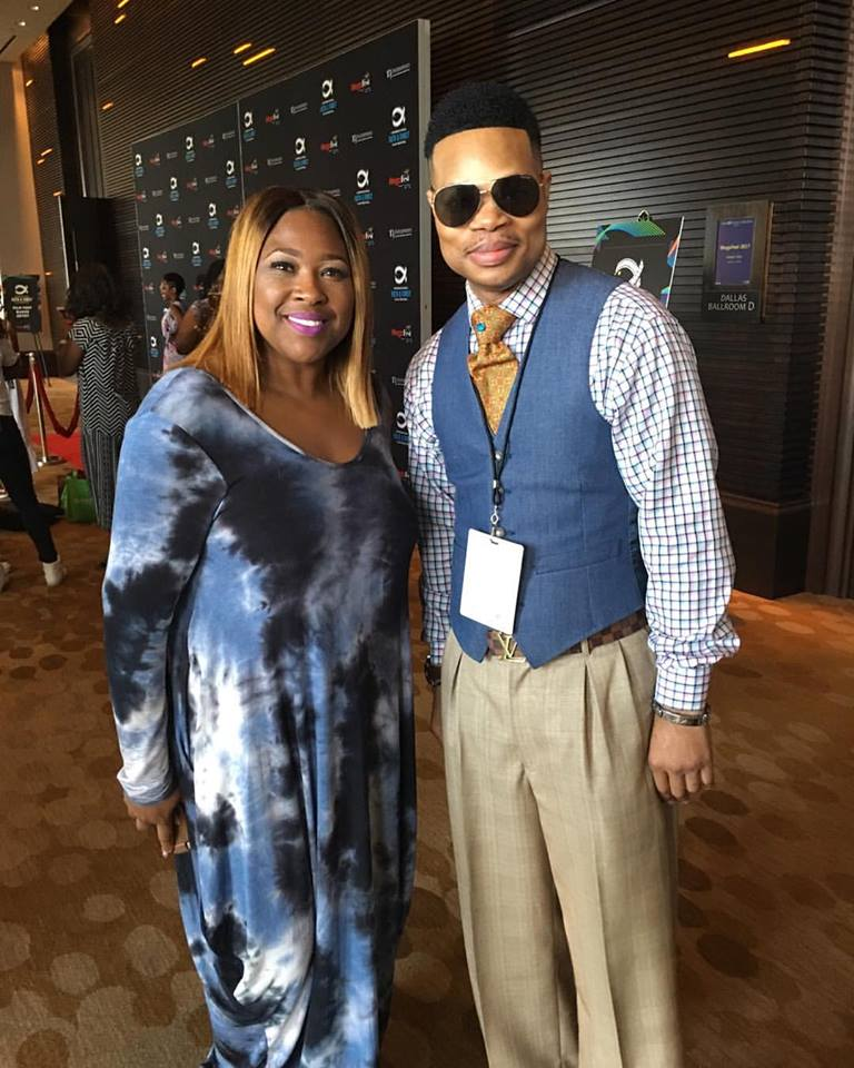 Gospel Singer Candy West & Elder Brown at MegaFest 2017