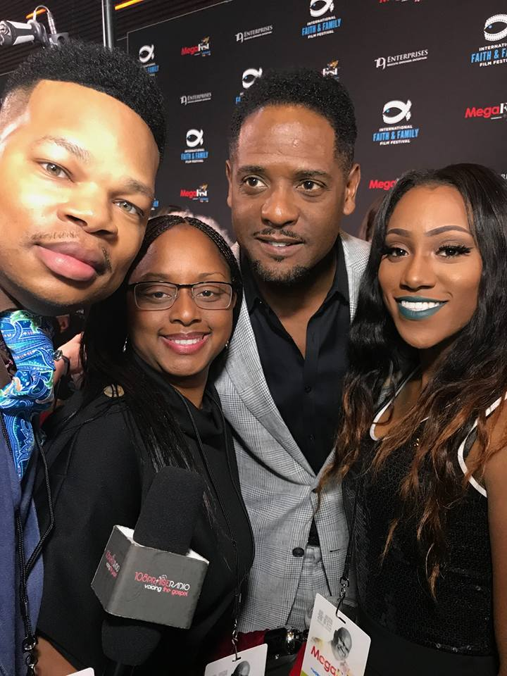 Elder Brown, Lakeba Wallace, Blair Underwood & Precious Thornton at MegaFest 2017