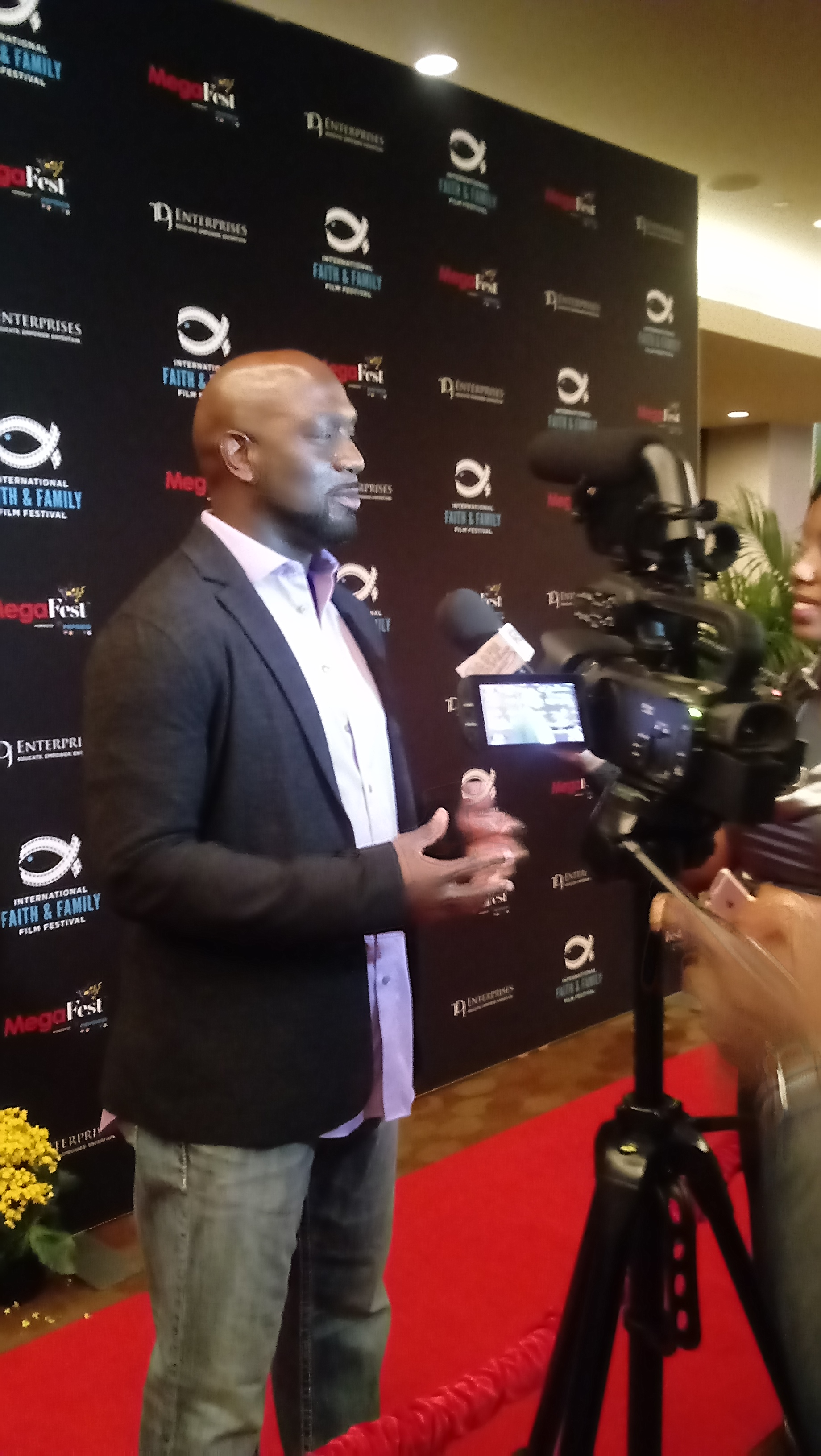 Richard T. Jones at MegaFest 2017