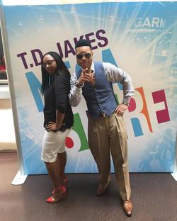 Lakeba Wallace & Elder Brown at MegaFest 2017