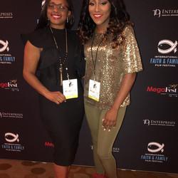 Lakeba Wallace & Precious Thornton at MegaFest 2017