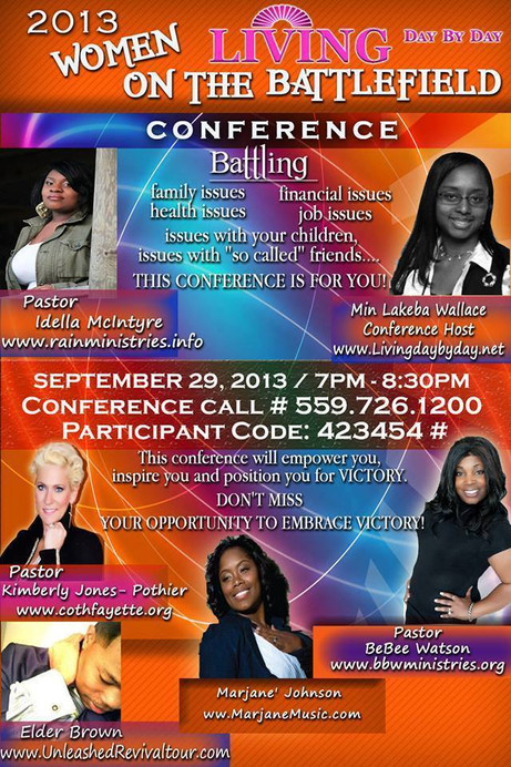 2013 Women on the Battlefield Conference