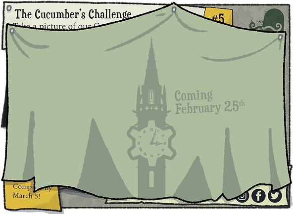 The Cucumber's Challenge - Coming February 25th