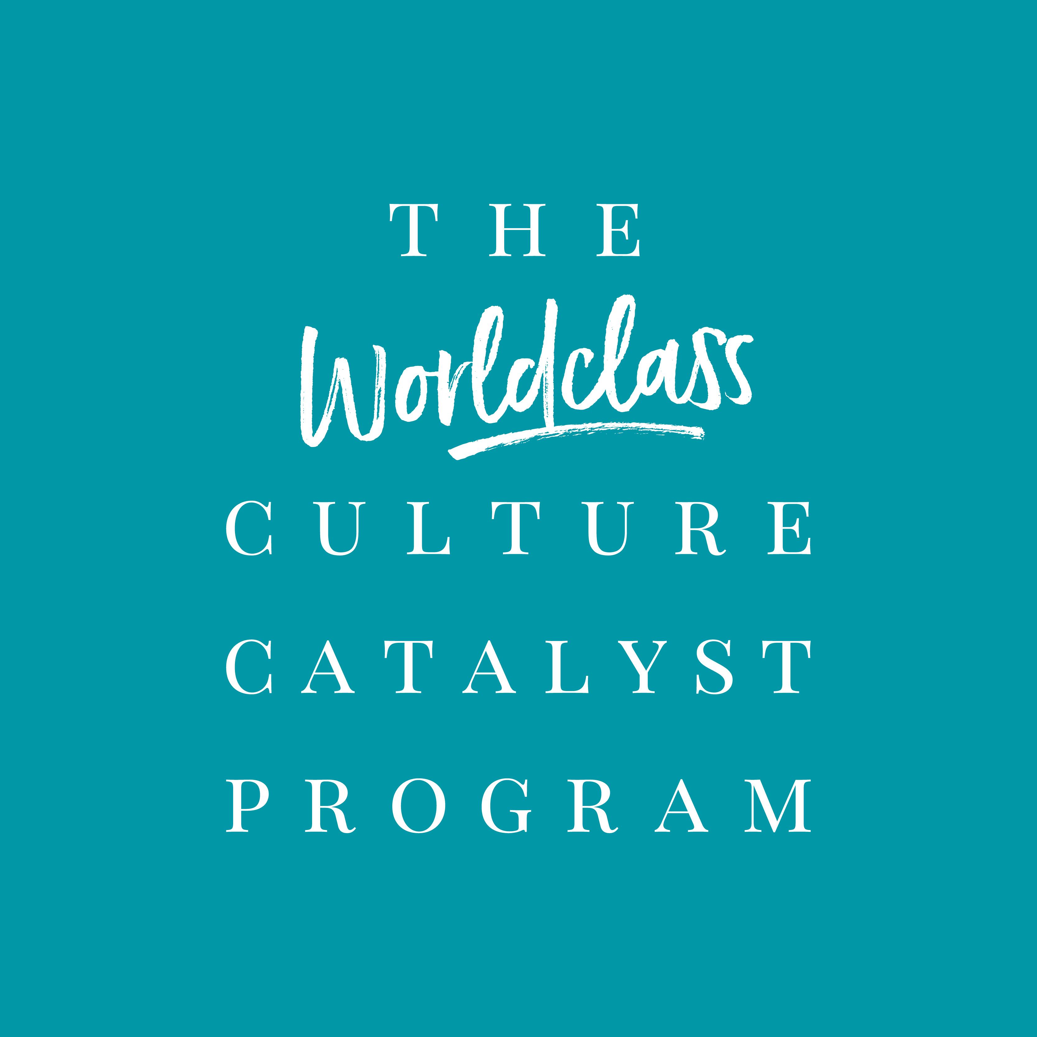 The Worldclass Culture Catalyst Program