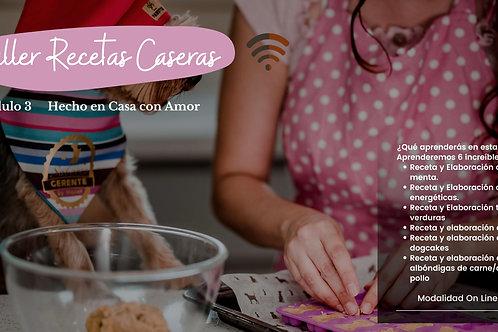 MÓDULO 3 - TALLER RECETAS DE CASERAS
