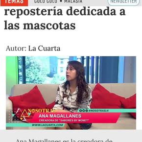 SABORES BY MONET LA CUARTA TV
