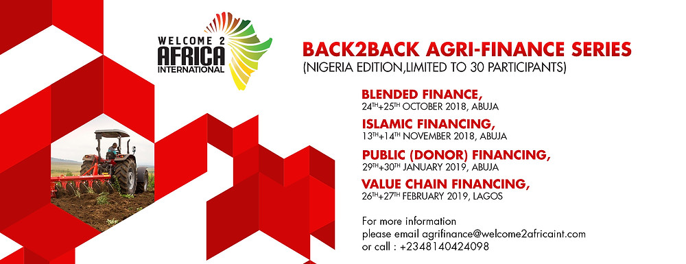 Back2Back Agrifinance training series