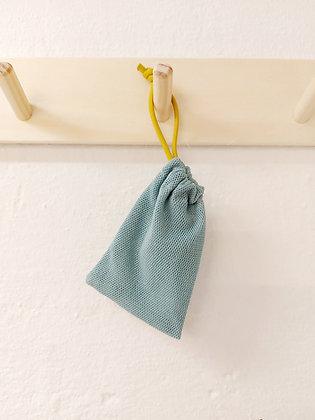 Seifensäckchen mint/senf