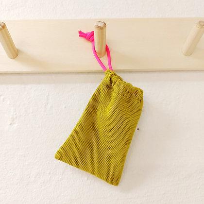 Seifensäckchen senf/neonpink