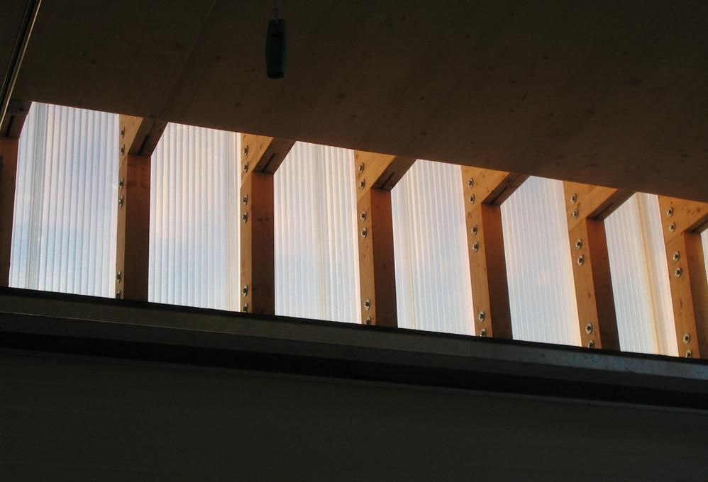 Detail Werkhalle