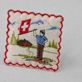 Bildsymbole der Schweiz. Entwurf im Souvenir
