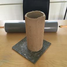 Grosse Vase, Ton, 2019