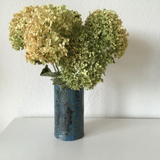 Vase, gebrannt und glasiert, 2019