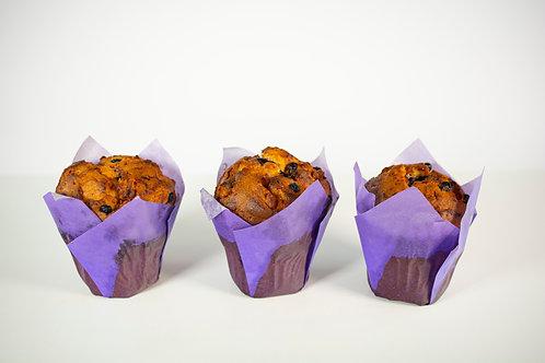 Polnjeni muffini borovnica 2 kos