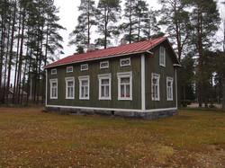 Husets många vackra fönster