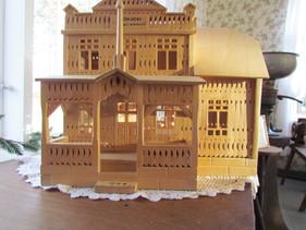Miniatyrbild av Kovjoki Samlingshus gjord av Alfred Hägg