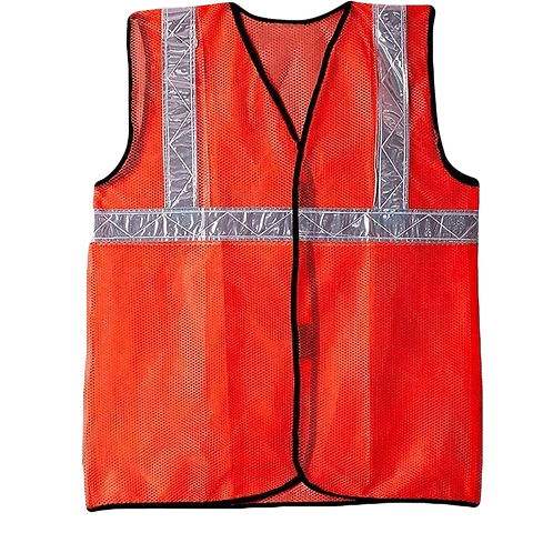 RF Tagged Reflective Safety Jackets - Set of 10