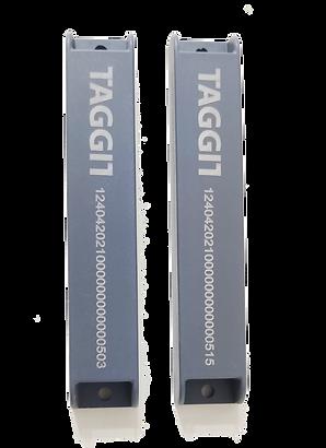 Set of 10 UHF RFID Hard Metal Tags