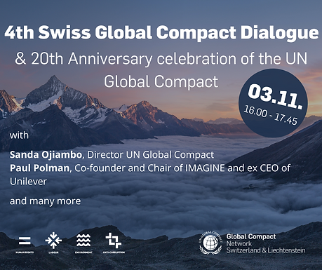 4th Global Compact Dialogue & UNGC 20th Anniversary Celebration