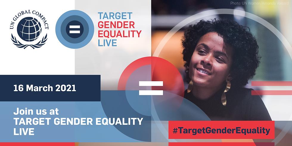 Target Gender Equality Live