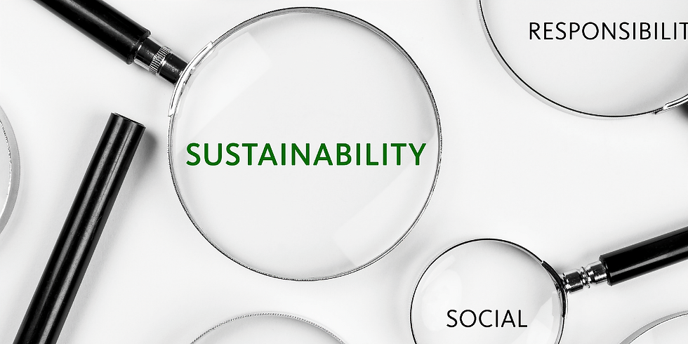 COP and sustainability reporting - development of a roadmap