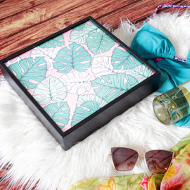 Poster Lightbox - Leaves_Summer_Flatlay_