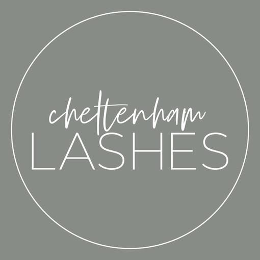 Cheltenham Lashes Logo_Round White on Pi