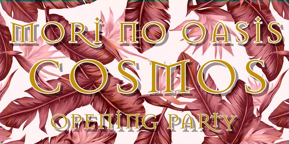 """大型ゲル・森のオアシス""""COSMOS OPENING PARTY"""""""