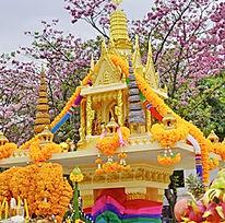 Decorate spirit house in Thailand