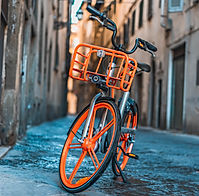 Mobike (public bicycle) in Shanghai, China