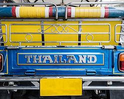Close up on tuk tuk from Bangkok, Thaila