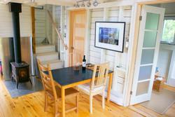 living area, deepBlueSea cottage