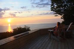 twilight, deepBlueSea cottage
