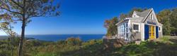panorama, deepBlueSea cottage