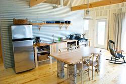 kitchen area, eagles pass cottage