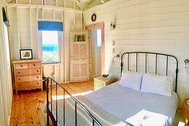 master bedroom, cape cottage, seasky oceanfront cottgages in chimney corner, cape breton