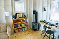 work area, eagles pass cottage