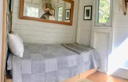 second bedroom, deepBlueSea cottage