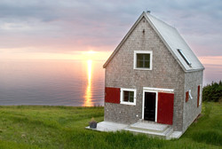 SeaSky cottage sundown