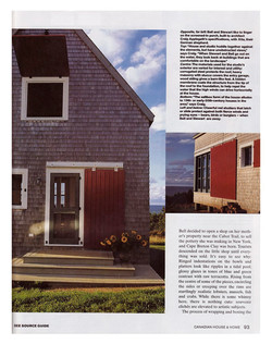 article about SeaSky cottage