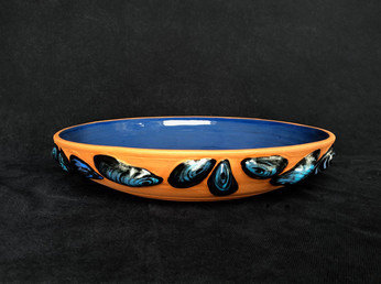"""mussel bowl approx 14""""  $395"""