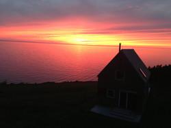 twilight, SeaSky cottage