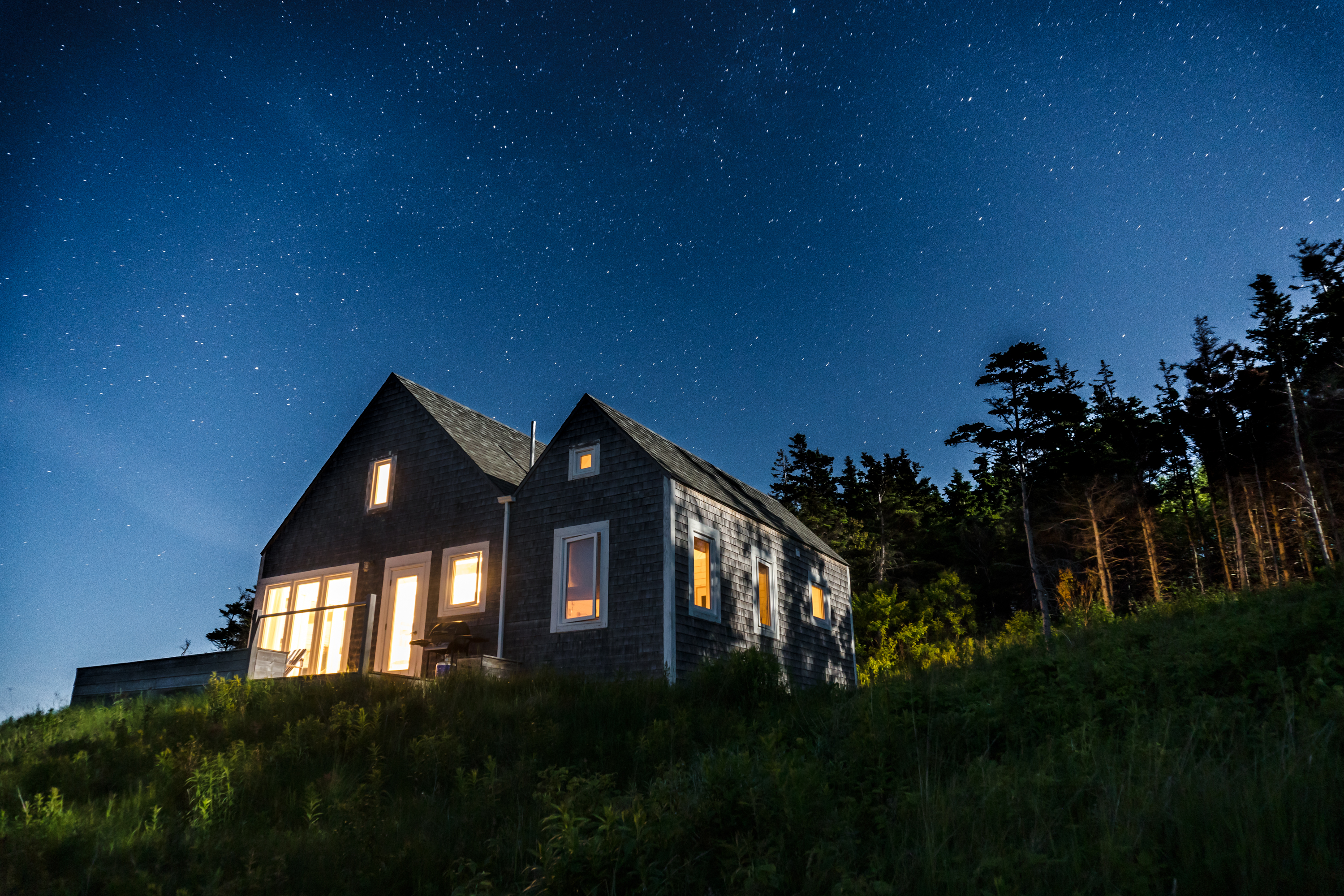 incredible stars, cape cottage