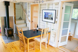 interior deepBlueSea cottage, seasky oceanfront cottgages in chimney corner, cape breton