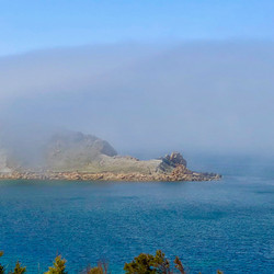 fog rolling over point
