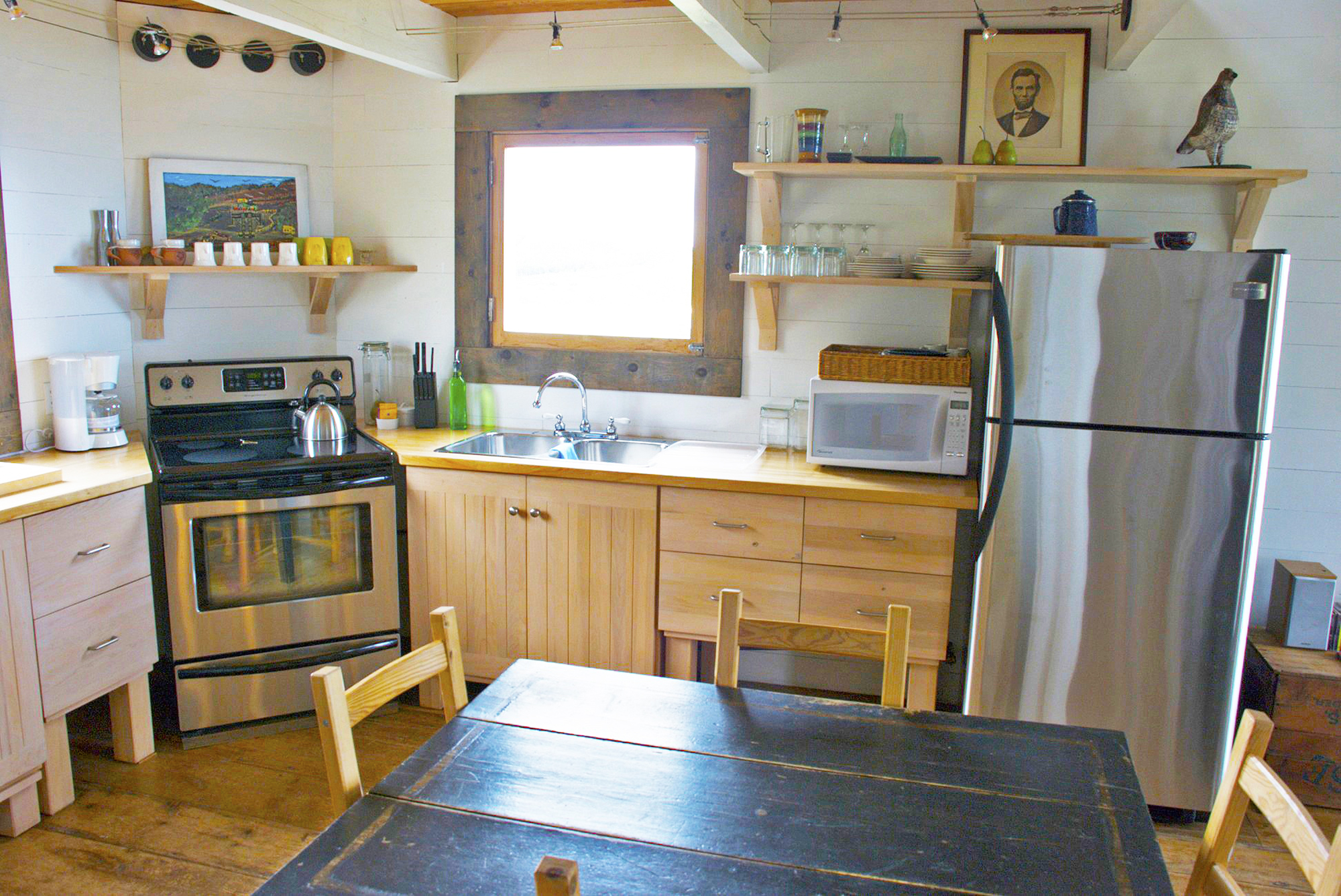 kitchen, SeaSky cottage