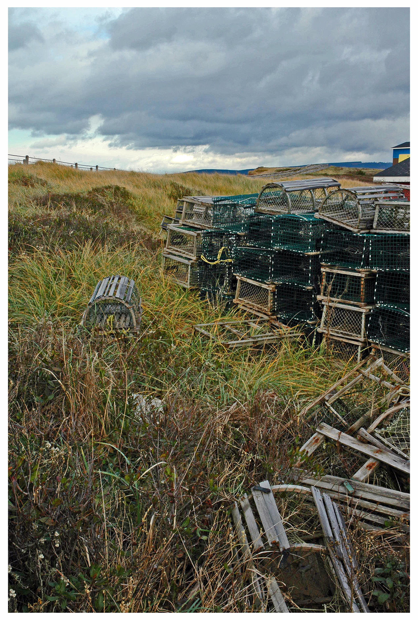 lobster traps, inverness
